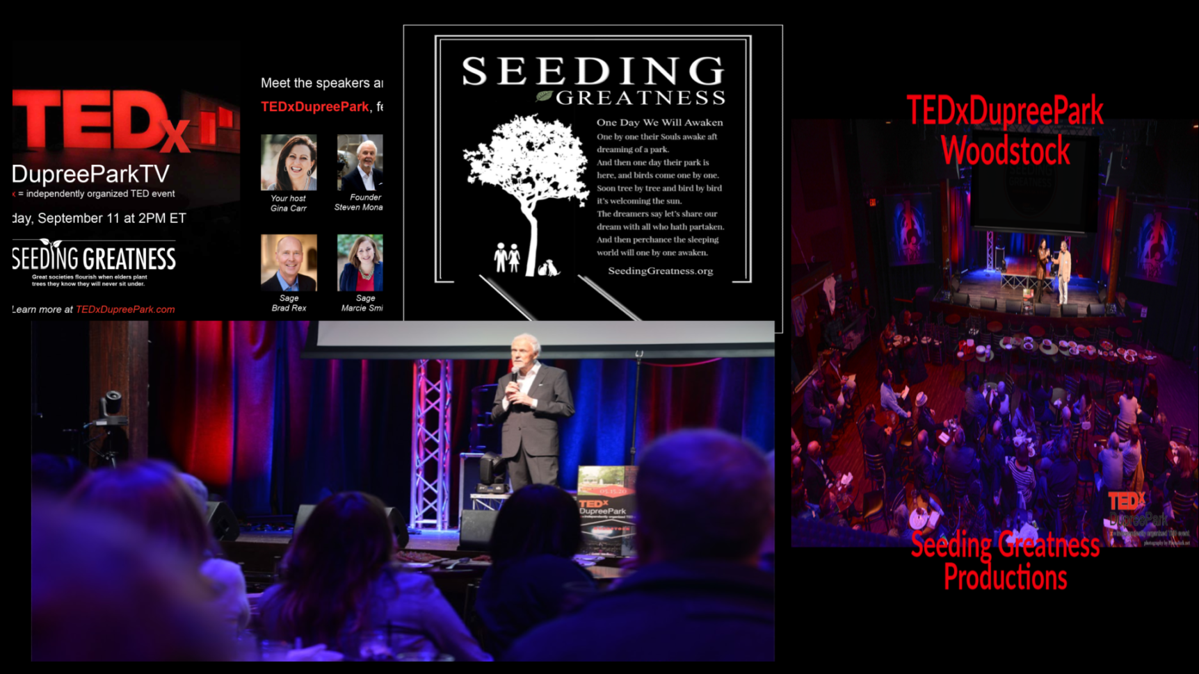 Steven Monahan Licensee, Organizer TEDx Dupree Park and Founder of Green Pets America Charities